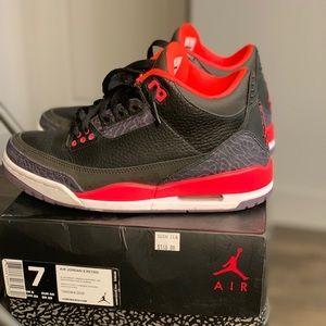 Crimson 3s size 7y